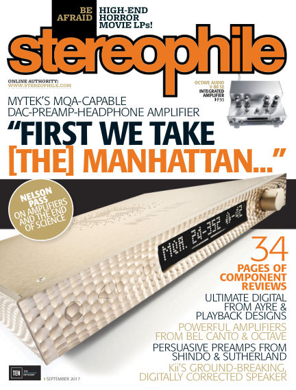 Stereophile August 11, 2017 00:00