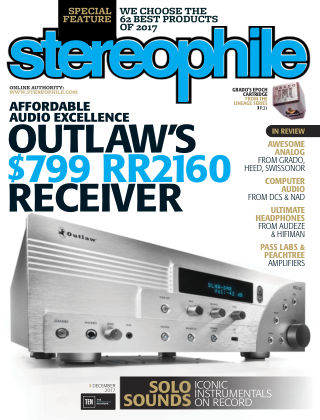 Stereophile Dec 2017