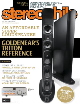 Stereophile Jan 2018