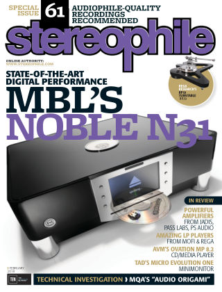 Stereophile Feb 2018
