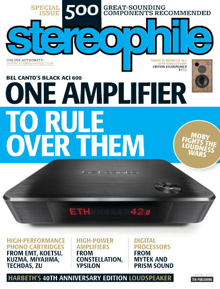 Stereophile March 09, 2018 00:00