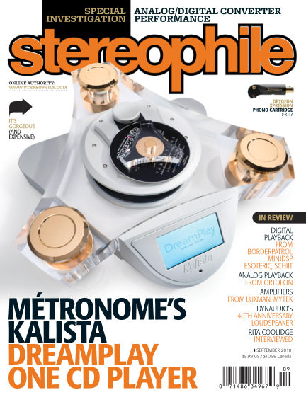Stereophile August 10, 2018 00:00