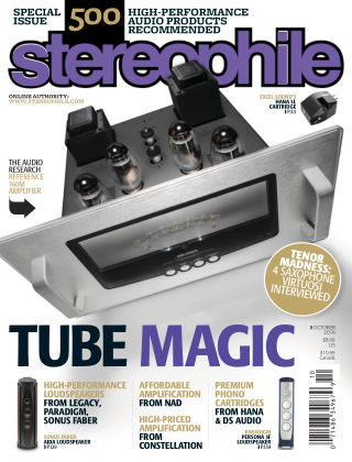 Stereophile Oct 2018