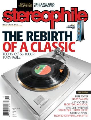 Stereophile Nov 2018