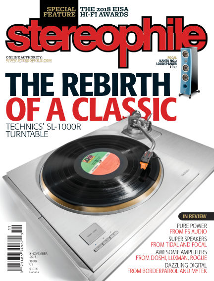 Stereophile October 12, 2018 00:00