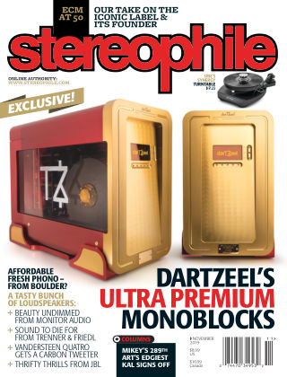 Stereophile Nov 2019