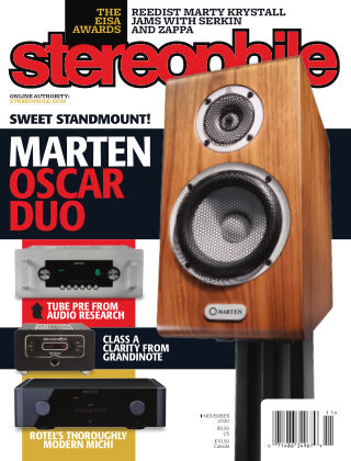 Stereophile November 2020