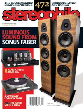 Stereophile April 2021
