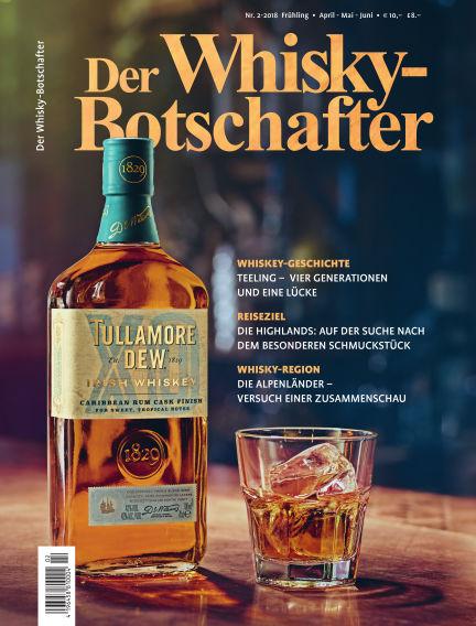 Der Whisky-Botschafter April 24, 2018 00:00