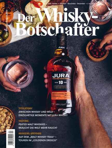 Der Whisky-Botschafter September 28, 2018 00:00