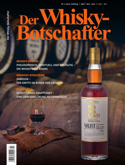 Der Whisky-Botschafter March 29, 2019 00:00