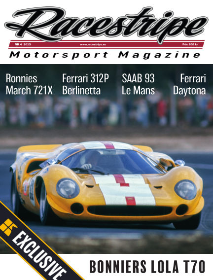 Racestripe Magazine Readly Exclusive May 31, 2019 00:00