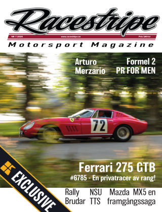 Racestripe Magazine Readly Exclusive 2020-02-22