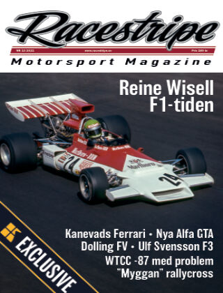 Racestripe Magazine Readly Exclusive 2021-02-13