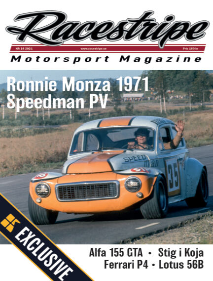 Racestripe Magazine Readly Exclusive