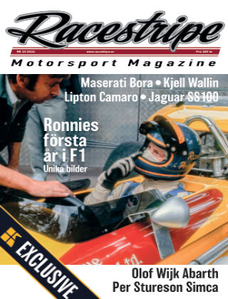 Racestripe Magazine Readly Exclusive 2021-08-14