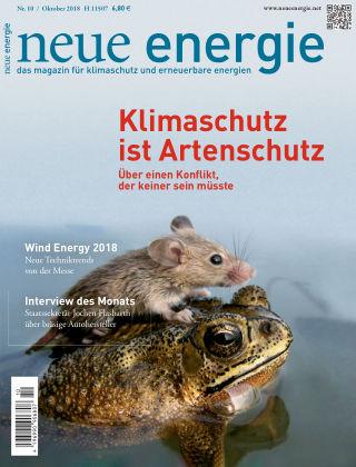 neue energie 10/2018