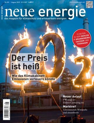 neue energie 08/2019