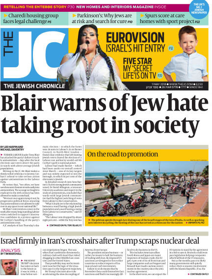 The Jewish Chronicle May 11, 2018 00:00