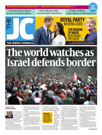 The Jewish Chronicle May 18, 2018 00:00