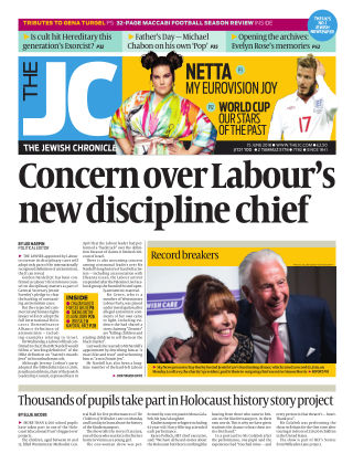 The Jewish Chronicle 15th June 2018
