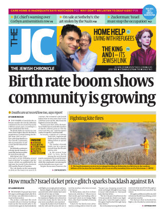 The Jewish Chronicle 22nd June 2018