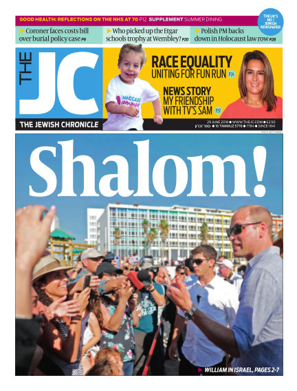 The Jewish Chronicle June 29, 2018 00:00