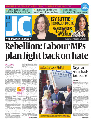 The Jewish Chronicle 13th July 2018