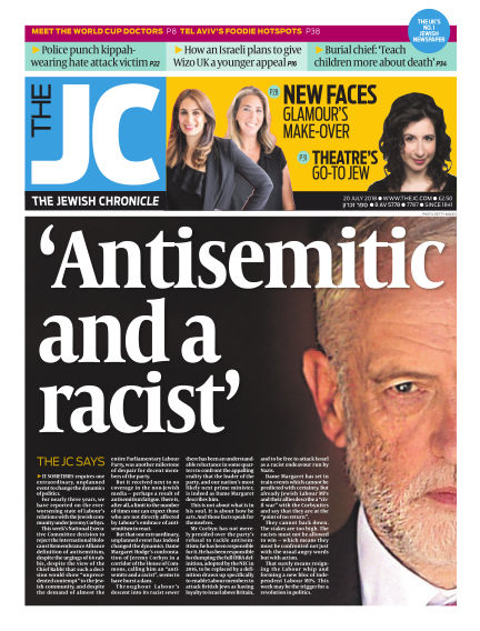 The Jewish Chronicle July 20, 2018 00:00