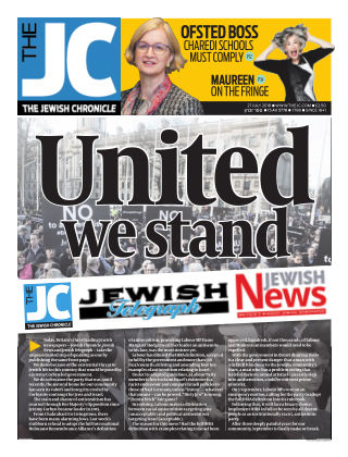 The Jewish Chronicle 27th July 2018