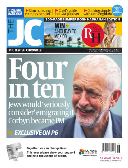 The Jewish Chronicle September 07, 2018 00:00