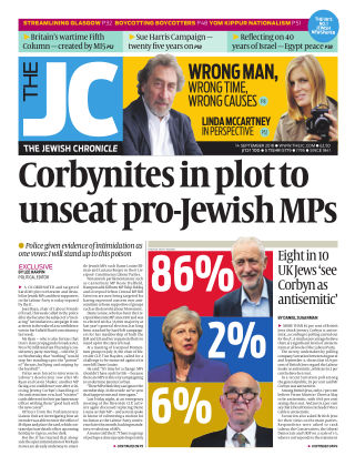 The Jewish Chronicle 14th September 2018