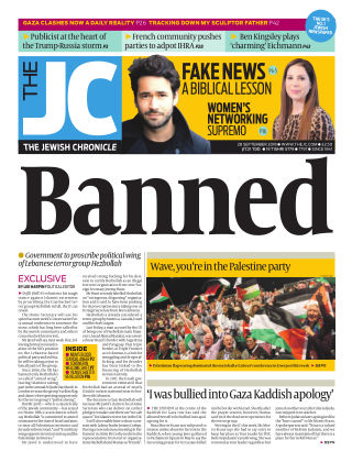 The Jewish Chronicle 28th September 2018