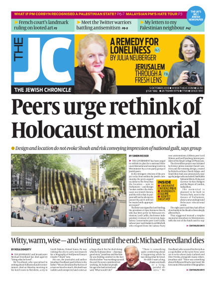 The Jewish Chronicle October 05, 2018 00:00