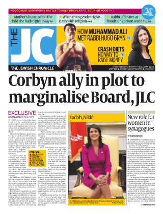 The Jewish Chronicle 12th October 2018