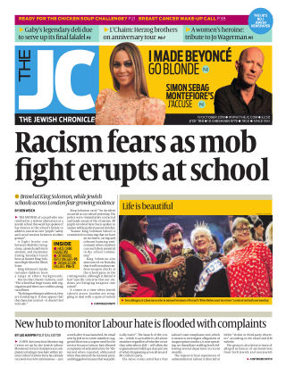 The Jewish Chronicle 19th October 2018