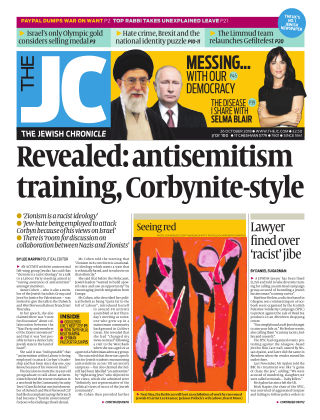 The Jewish Chronicle 26th October 2018