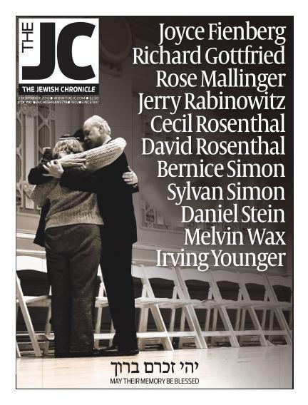 The Jewish Chronicle November 02, 2018 00:00