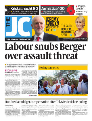 The Jewish Chronicle 9th November 2018