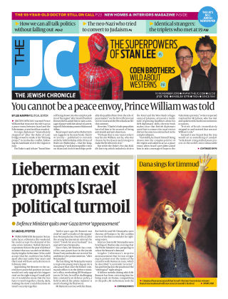 The Jewish Chronicle 16th November 2018