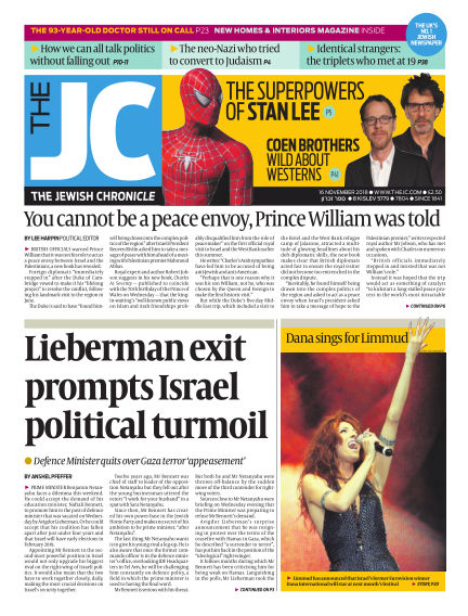 The Jewish Chronicle November 16, 2018 00:00