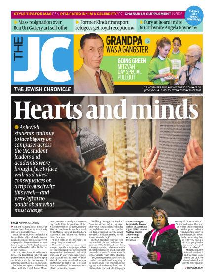 The Jewish Chronicle November 23, 2018 00:00