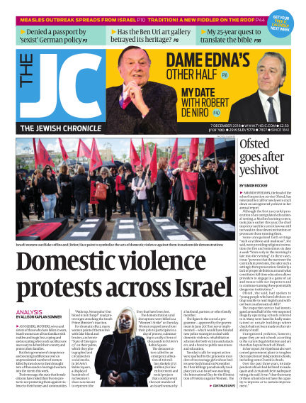 The Jewish Chronicle December 07, 2018 00:00