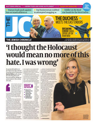 The Jewish Chronicle 25th January 2019