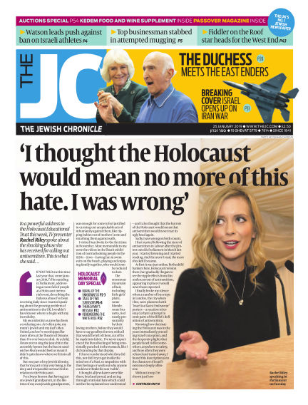 The Jewish Chronicle January 25, 2019 00:00