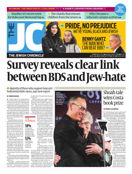 The Jewish Chronicle February 01, 2019 00:00