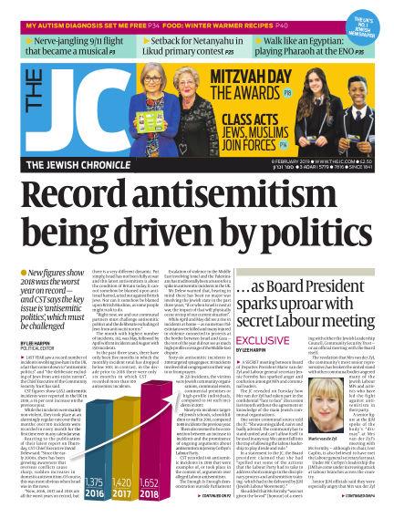 The Jewish Chronicle February 08, 2019 00:00