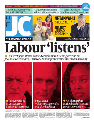 The Jewish Chronicle 1st March 2019