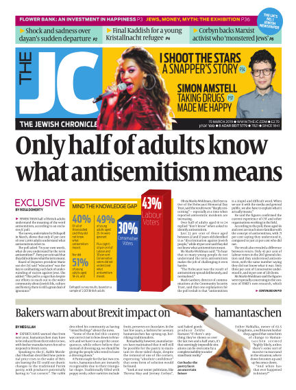 The Jewish Chronicle March 15, 2019 00:00