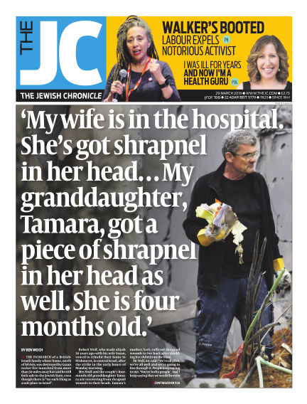 The Jewish Chronicle March 29, 2019 00:00
